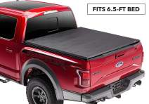 """Rugged Liner Premium Soft Folding Truck Bed Tonneau Cover 