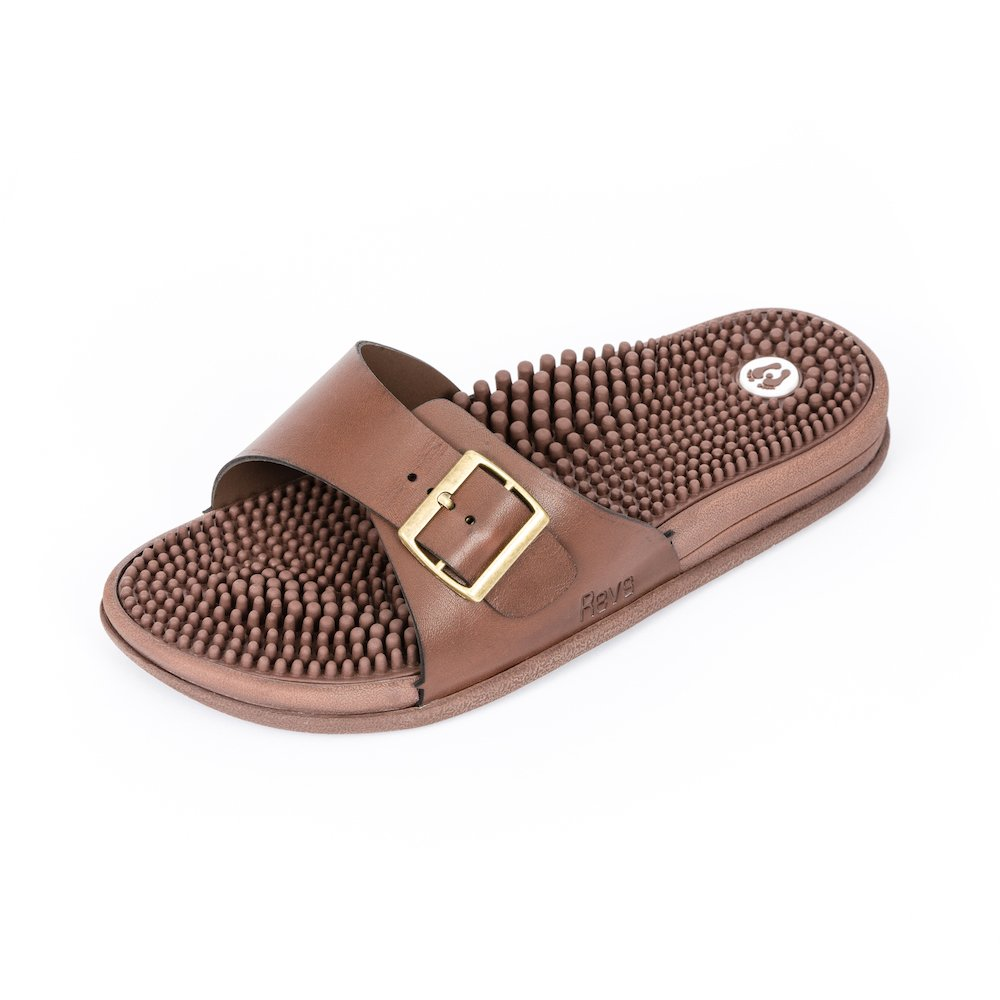 Revs Classic Reflexology Massage Sandals for Men & Women. Massage Therapy for Better Health, Pain Relief, Increased Circulation & Energy. Relieves Plantar Fasciitis & Heel Pain