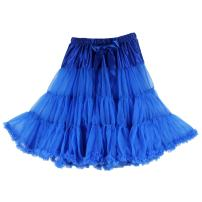 Buenos Ninos Women's Sexy One Layer Tea Length Soft Mid Tulle Pettiskirt for Party