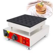 CGOLDENWALL 25 Holes Poffertjes Grill Dutch Waffle Maker Mini Pancake Machine waffle maker baker machine
