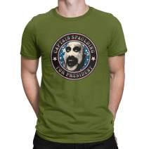 CHAMPRINT Captain Spaulding for President T Shirt Horror Gift Tops Tees Men