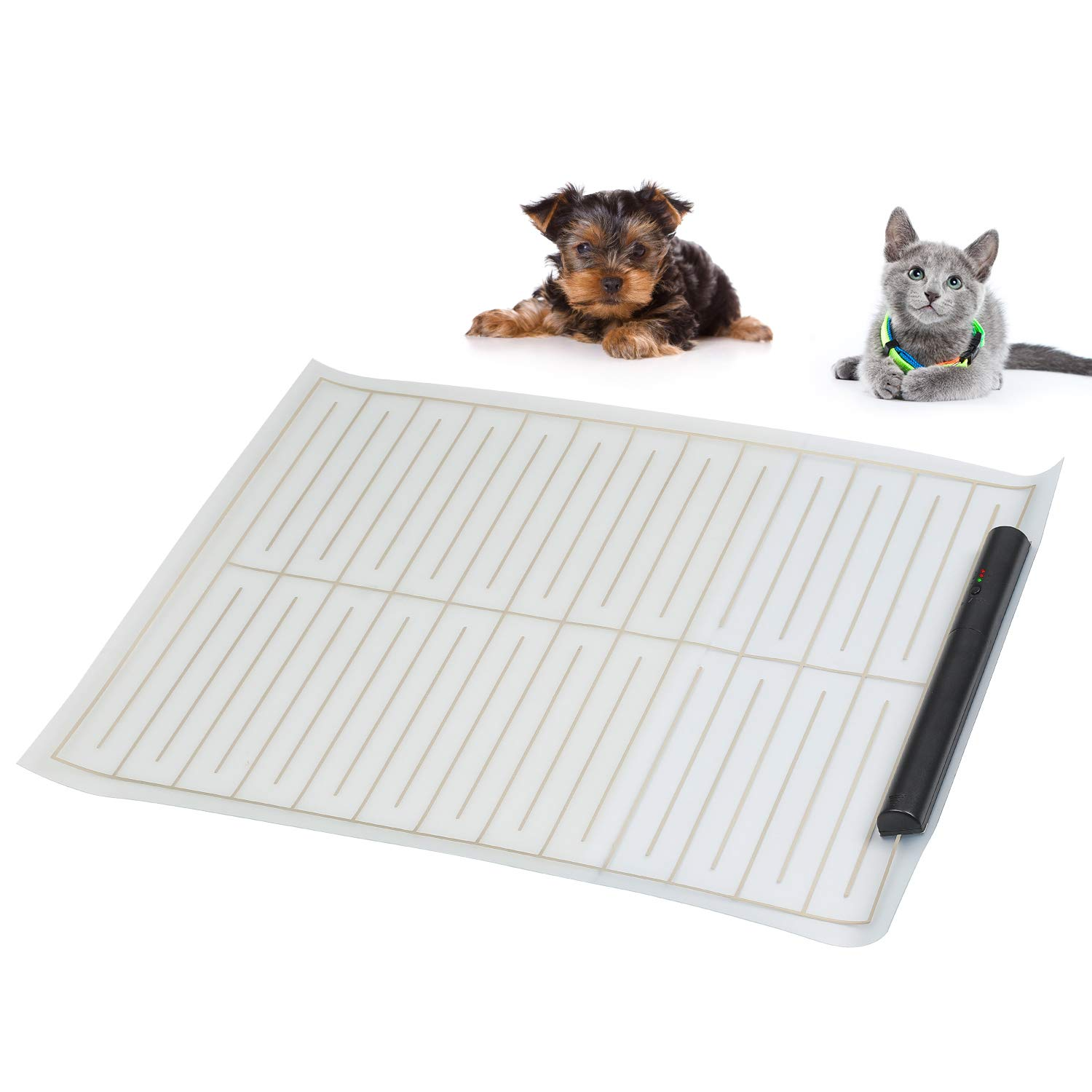 ASSENIO Scat Mat for Dog 2020 Upgraded, Indoor Electronic Pet Shock Training Mat for Dogs and Cats, Keep Pets Away from Unwanted Places