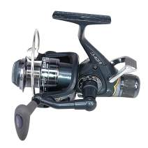 Lixada Spinning Fishing Reels with Front Rear Double Brake Drag System 5BB Ultralight Spinning Reel