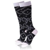 Compression Socks for Women & Men 15-20mmHg Graduated-BEST Running Socks WXXM 1 Pair