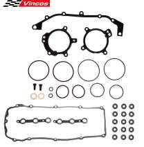 Vincos DUAL VANOS O-Ring Seal Repair Kit Valve Cover Gasket set w/Bolts Seals 036-1681 VS50626R