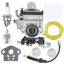 Anxingo WYK-186 Carburetor for Echo PB260L PE260 PE261 PPT260 HCA260 HCA261 PAS260 SHC260 SHC261 PAS261 SRM260 SRM260S SRM260SB SRM260U SRM261 SRM261S SRM261T SRM261U Trimmer A021000700 Carb