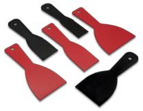 Qualihome Putty Knife Set | 6 Flexible Paint Scrapers for Spackling, Patching, and Painting