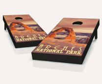 Tailgating Pros Arches Cornhole Boards with Set of 8 Cornhole Bags
