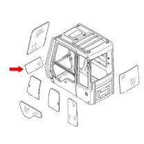 11205358 Front Lower Cab Glass Made for Volvo Excavator EC160C EC240C C Series