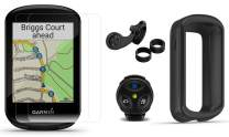 Garmin Edge 830 Mountain Bike GPS Bundle with MTB Bike Mount, Speed Sensor, Edge Remote, Silicone Case & Screen Protectors (x2) | Touchscreen, Mapping | Bike Computer