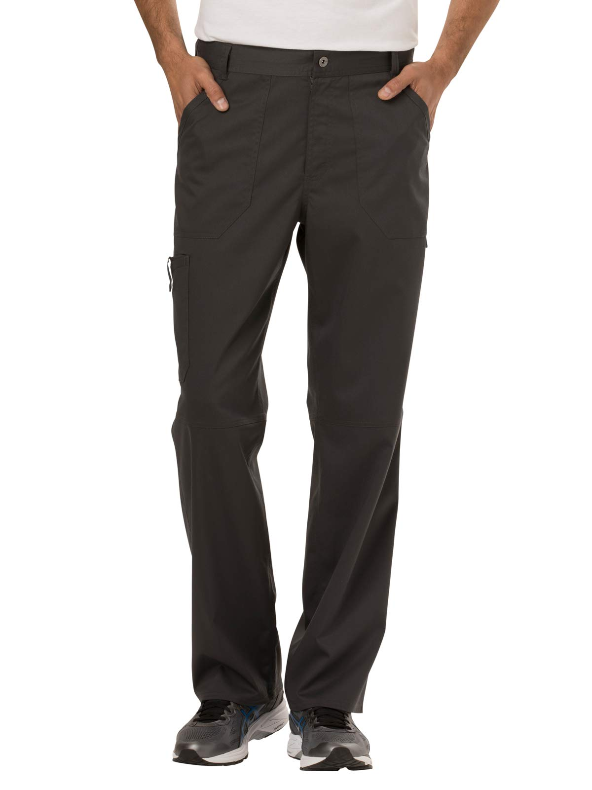 CHEROKEE Men's Fly Front Pant Tall