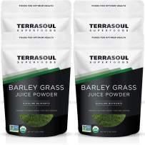 Terrasoul Superfoods Organic Barley Grass Juice Powder, 20 Ounces - USA Grown