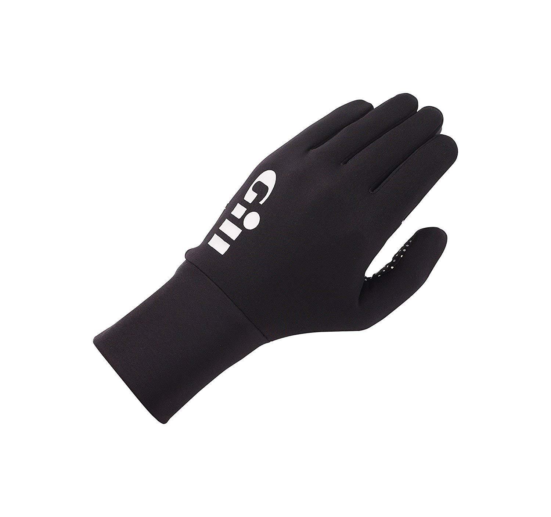 GILL Performance Fishing Black Gloves (Fg22b)