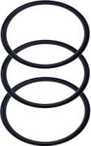 Pack of 3-20/10 oz Replacement Rubber Lid Ring, Gasket Seals, Lid for Insulated Stainless Steel Tumblers, Cups Vacuum Effect, fit for Brands - Yeti, Ozark Trail, Beast, Black by C&Berg Model 2020