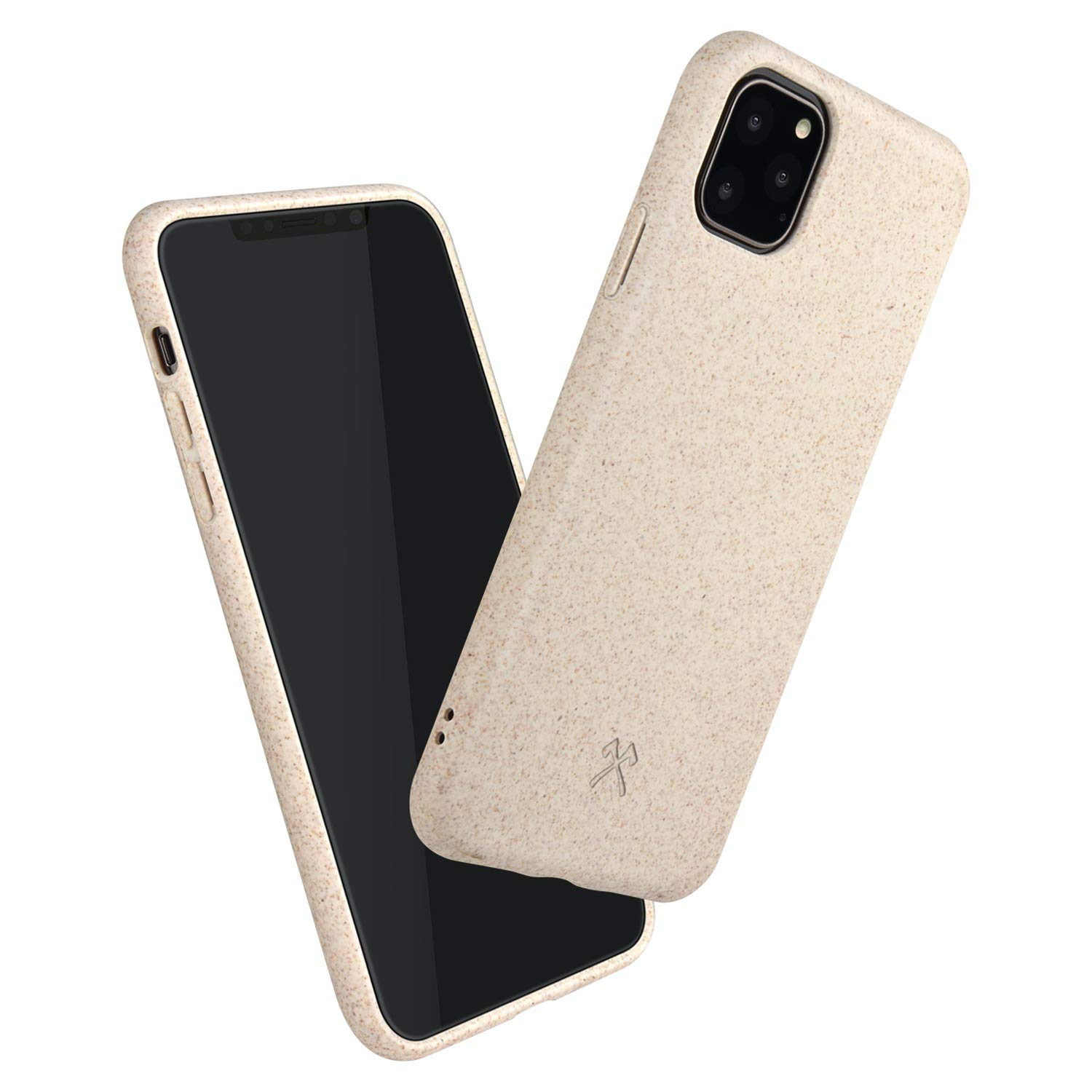Woodcessories - Case Compatible with iPhone 11 Pro - Sustainable, Organic Case (White)