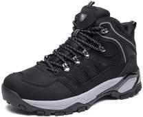 CAMEL CROWN Mid Hiking Boots Men Outdoor Lightweight Non-Slip Work Boots Backpacking Trekking Walking Trails