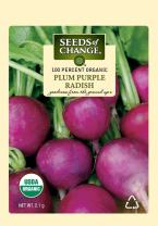 Seeds of Change S21041 Certified Organic Plum Purple Radish