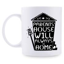 Best Mom & Dad Birthday Gifts - Funny Mother's Day Gifts, Christmas Gifts for Women & Men, Retirement Gifts for Grandpa & Grandma, 11oz Coffee Mugs for Mom, Dad, Grandfather, Grandmother, Him, Her