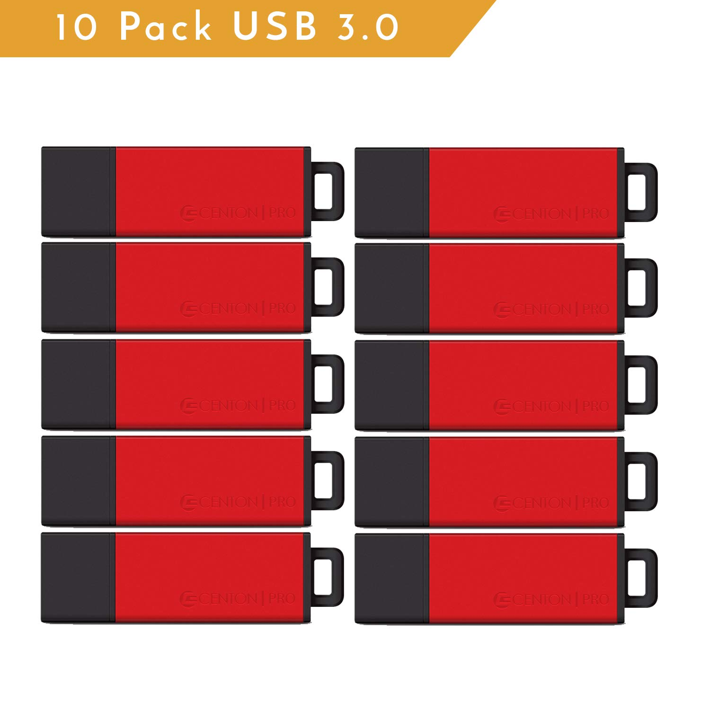 Centon ValuePack USB 3.0 Datastick Pro2 (Red), 128GB 10 Pack