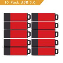 Centon ValuePack USB 3.0 Datastick Pro2 (Red), 256GB 10 Pack
