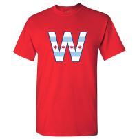UGP Campus Apparel Chicago City Flag W Mens T-Shirt