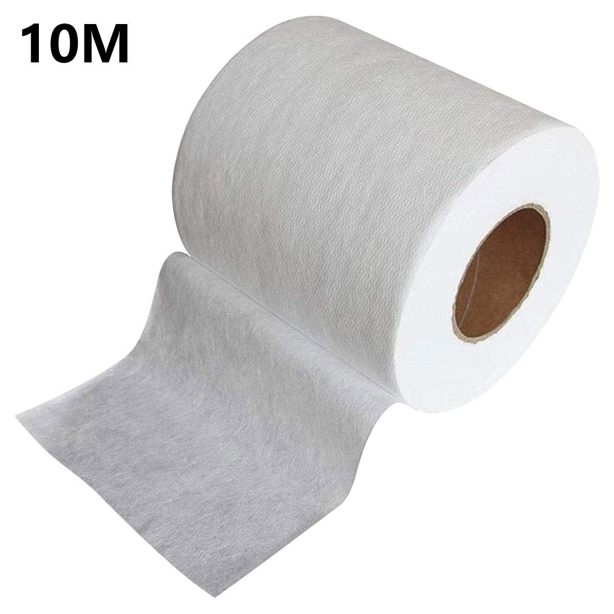 Non-Woven Fabric Melt-Blown Cloth, Disposable Middle Layer Filter Microfiber Fabric Polypropylene Sediment Filters for Filtering, Filtering Efficiency Greater Than 95% (10M)