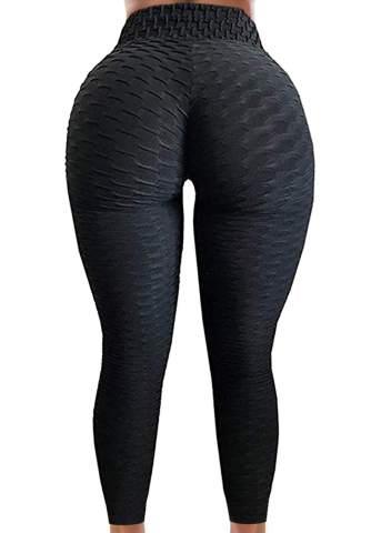 Women Butt Lift Leggings High Waist Yoga Pants Stretch Sports Workout Trousers W