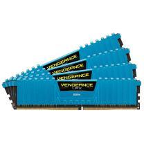 Corsair Vengeance LPX 16GB (4x4GB) DDR4 DRAM 2666MHz (PC4-21300) C16 Memory Kit - Blue