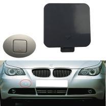 Pikki Front Bumper Tow Hook Cover Cap for E60 E61 525i 528i 530i 530xi 540i