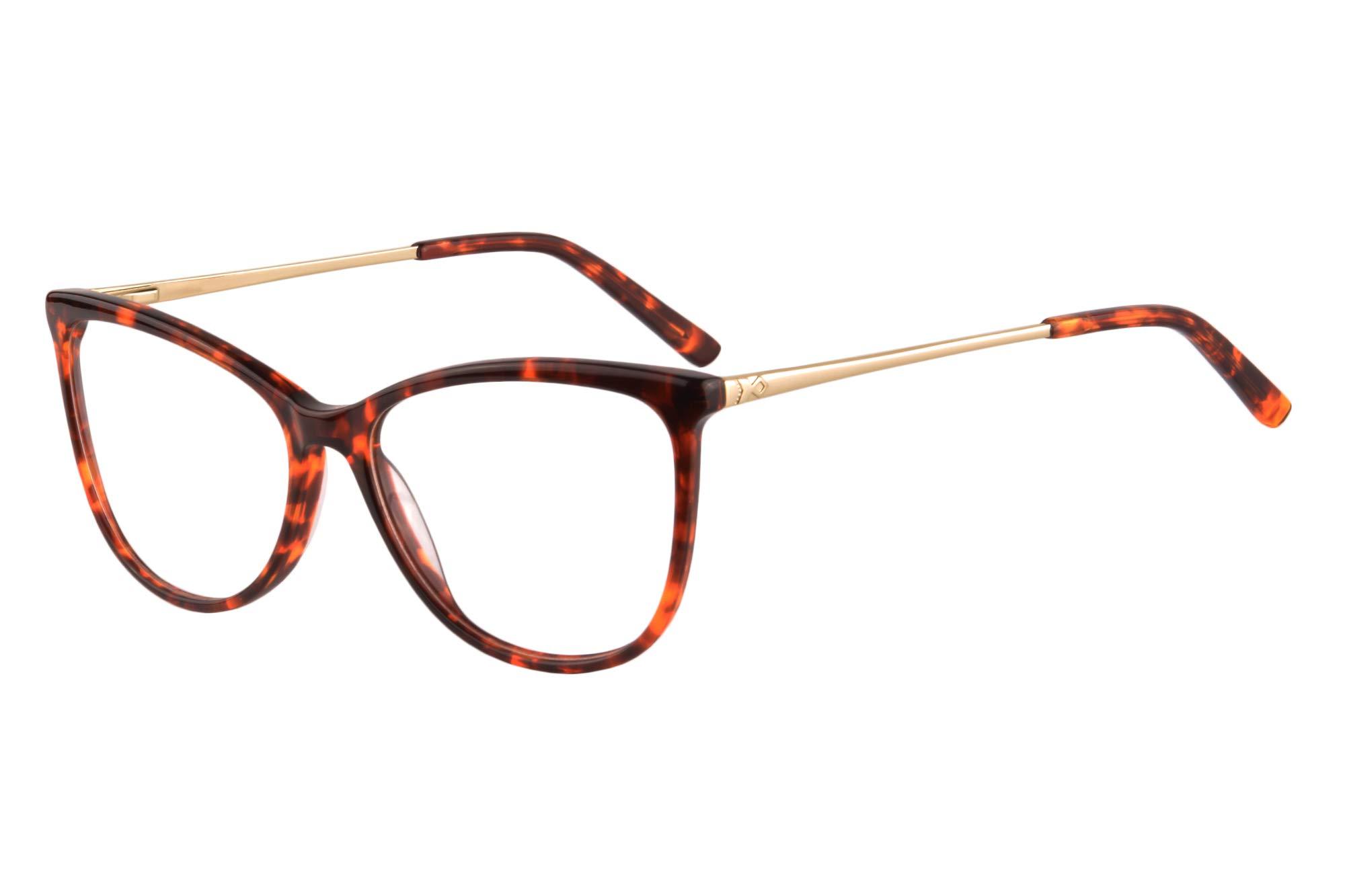 UOOUOO Acetate Cateye Anti-blue Light Computer Progressive Multifocus Reading Glasses-UOORD147