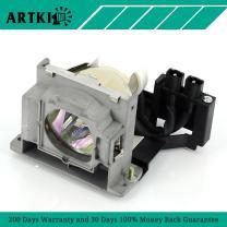 VLT-XD400LP Replacement Lamp for Mitsubishi XD400U XD450U XD460U XD480U/XD490U ES100 XD400 (by Artki)