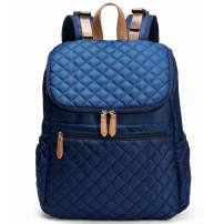 Large Capacity Baby Diaper Bag Backpack with Stroller Buckles, Waterproof and Stylish, Suitable for Shopping,Travelling (blue)