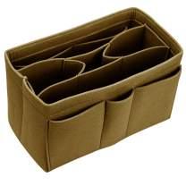 Purse Organizer Insert for Handbags Tote Diaper Bag Felt Bag Handbag Organizer for Speedy Neverfull MM GM and More