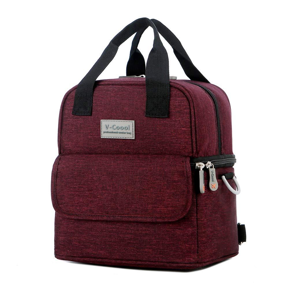 V-COOOL Lunch Bag Fresh-Keeping Backpack Picnic Bag