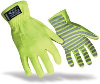 Ringers TrafficR-307 Reflective Gloves for Traffic Control, High Visibility, Green, XX-Large