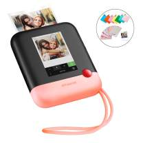 Polaroid Pop 2.0 2 in 1 Wireless Portable Instant 3x4 Photo Printer & Digital 20MP Camera with Touchscreen Display, Built-in Wi-Fi - Pink