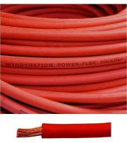 6 Gauge 6 AWG 10 Feet Red Welding Battery Pure Copper Flexible Cable Wire - Car, Inverter, RV, Solar