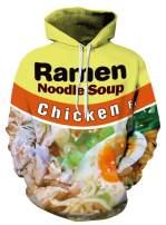 Azuki Chicken Ramen Hoodies for Men and Women