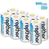 CR123A Lithium Battery [900mAh 8Pack] for Arlo Wireless Security Camera (VMC3030/VMK3200/VMS3230/3330/3430/3530) Flashlight Polaroid Microphone