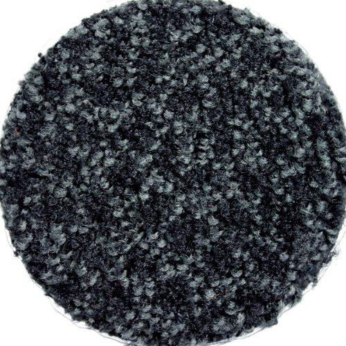 M+A Matting 120 ColorStar Nylon Fiber Interior Floor Mat, SBR Rubber Backing, 3' Length x 2' Width, Charcoal Heather