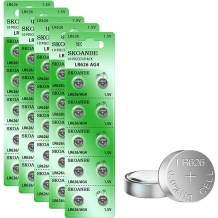 SKOANBE 50PCS SR626SW AG4 LR626 377 1.5V Button Coin Cell Watch Battery