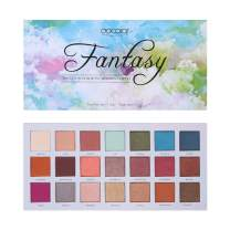Docolor Eyeshadow Palette 21 Colors Makeup Palette Matte Shimmer Eye Shadow Pallete Waterproof Powder Natural Pigmented Nude Naked Smokey Professional Cosmetic