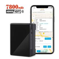 ABLEGRID GPS Tracker, 90-Days 7800mAh IoT Real-time GPS Tracking Device NB-IoT Cat-M 4G Small Hidden GPS Locator for Vehicle, Car, Personal, Valuable - with Global SIM Card