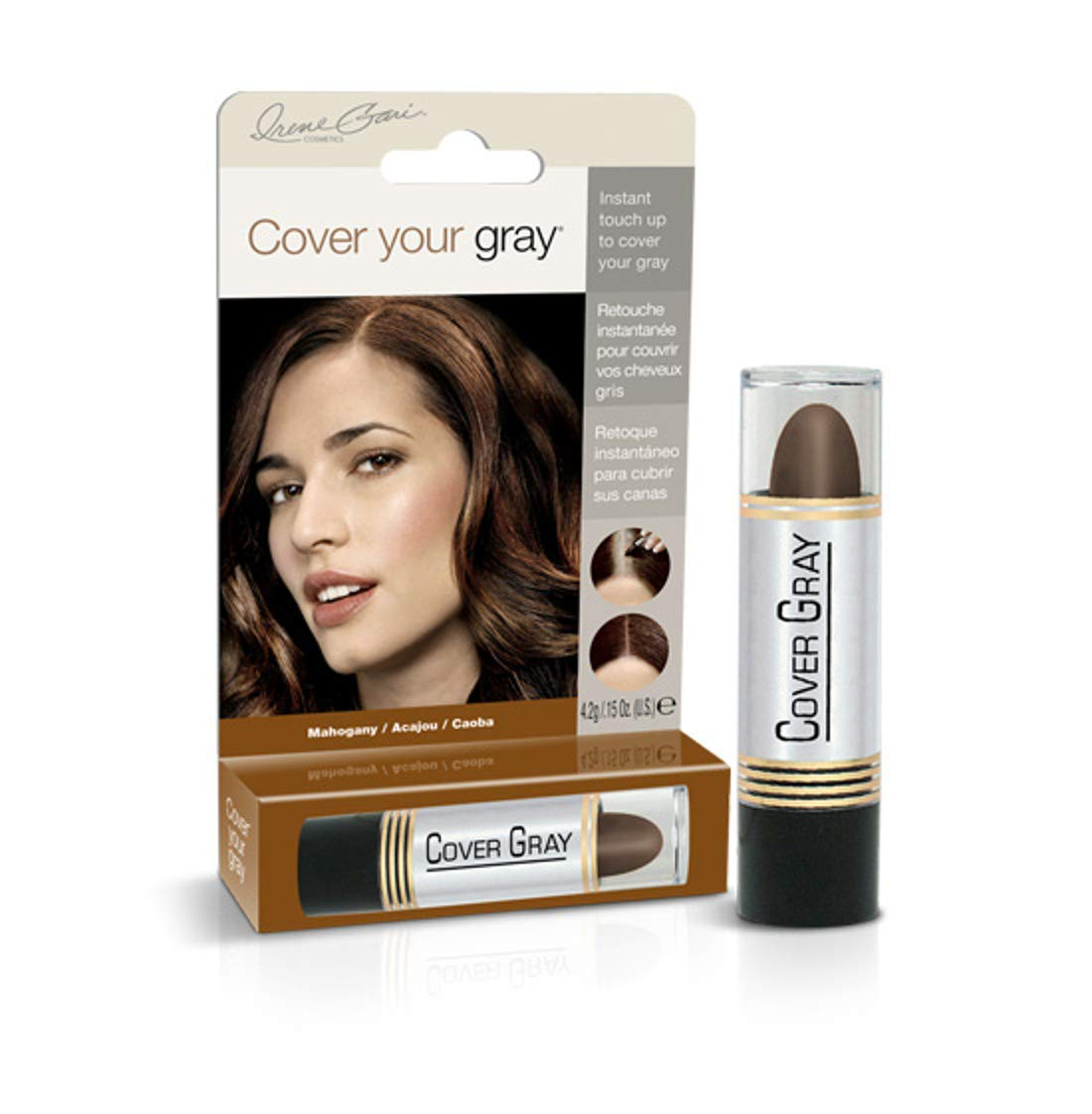 Cover Your Gray Hair Color Touch-Up Stick - Mahogony (6-Pack)