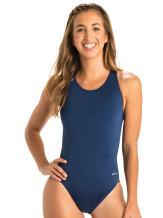 Dolfin Ocean Women's Swimwear Solid Performance Back Swimsuit