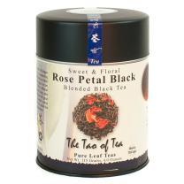 The Tao of Tea, Rose Petal Black Tea, Loose Leaf, 4-Ounce Tins (Pack of 2)