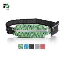 F&G Running Belt, Runners Waist Pack Fit iPhone X 8 7 6 Plus, Reflective Waterproof Adjustable Zipper Sport Workout Belt for Runners Race Marathon Hiking