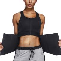 Womens Waist Trainer Sauna Vest Tank Top Hot Sweat Neoprene with Adjustable Waist Trimmer Belt