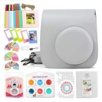 WOGOZAN camare Bag for Fujifilm Instax Mini 9/8 Include Camera Accessories Box Kit: Hand Strap/Film Album/Selfie Lens/Hanging + Creative Frames/Photo Stickers/Camera Sticks & More