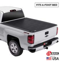 BAK Revolver X2 Hard Rolling Truck Bed Tonneau Cover | 39125 | Fits 2015-20 GM Colorado, Canyon 6' Bed